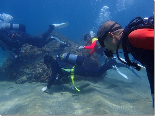 体験ダイビング-2